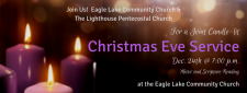 Christmas Eve 'Candle Light and Song' service