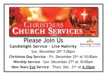 Jennings Creek CRC Christmas Services