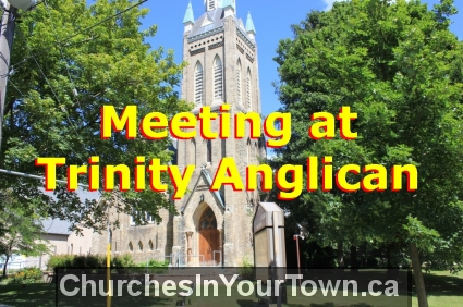 Meeting at Trinity Anglican Church